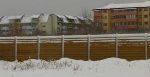 Gard caramida - Konkret Line