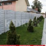 Gard prefabricat din beton - Konkret Line - K13 + K13B