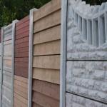 Modele panouri - Gard beton prefabricat