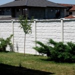 Panou K12 - Gard beton prefabricat