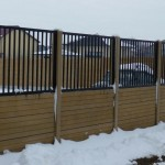 Panou K6 - Gard beton prefabricat - Confectii metalice