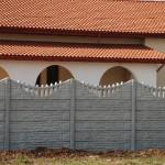 Panouri K1+K8 - Gard beton prefabricat