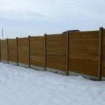 Panouri K6+K5 - Gard beton prefabricat