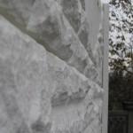 Panou K1+K8 - Gard beton prefabricat