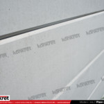 Gard modern - Model K015 - Gard prefabricat din beton Konkret Line