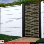 Gard modern - Model K020 - Gard prefabricat din beton Konkret Line