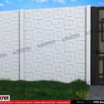 Gard modern - Model K06 - Gard prefabricat din beton Konkret Line