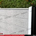 Gard piatra - Model K022 - Gard prefabricat din beton Konkret Line