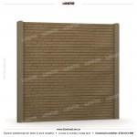 Gard caramida (Brick Line) - Model KR2 - Gard prefabricat din beton Konkret Line