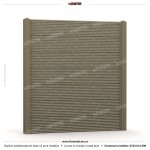 Gard modern (Modern Line) - Model K04 - Gard prefabricat din beton Konkret Line