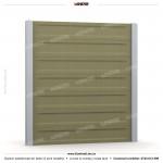Gard modern (Modern Line) - Model K3 - Gard prefabricat din beton Konkret Line