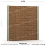 Gard piatra (Stone Line) - Model K12 - Gard prefabricat din beton Konkret Line