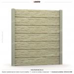 Gard piatra (Stone Line) - Model K1A - Gard prefabricat din beton Konkret Line