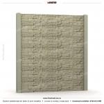 Gard piatra (Stone Line) - Model K1B - Gard prefabricat din beton Konkret Line