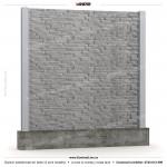 Gard piatra (Stone Line) - Model KR1 - Gard prefabricat din beton Konkret Line