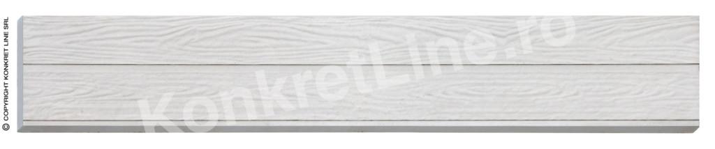 Gard prefabricat din beton, Model K05