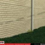 Gard caramida - Model KR2 - Gard prefabricat din beton Konkret Line