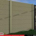 Gard modern - Model K04 - Gard prefabricat din beton Konkret Line