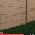 Gard piatra - Model K1 - Gard prefabricat din beton Konkret Line