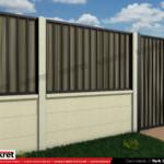Gard fier - panou gard metalic model KME1