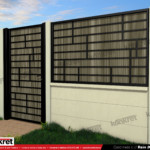 Gard fier - panou gard metalic model KME10