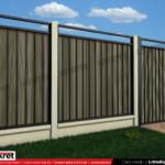 Gard fier - panou gard metalic model KME2