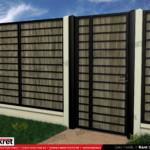 Gard fier - panou gard metalic model KME7