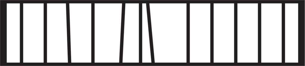 Gard fier - panou gard metalic